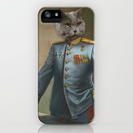 Soviet Marshal iPhone Case