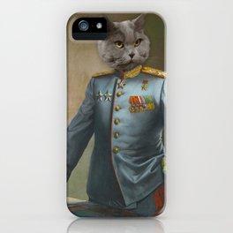 Soviet Marshal iPhone Case