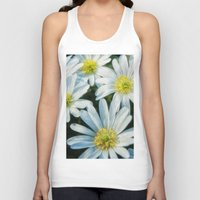 daisies Tank Tops featuring daisies by Barbro Paulsson