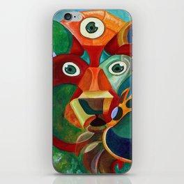 Three Eyed Bear iPhone Skin