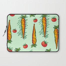 Neck Gaiter Carrots and Tomatoes Vegetable Garden Neck Gator Laptop Sleeve