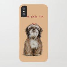 Shih Tzu iPhone X Slim Case