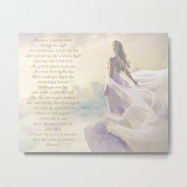 Rhiannon | Stevie Nicks Inspired Lyric Art Print Poster Metal Print