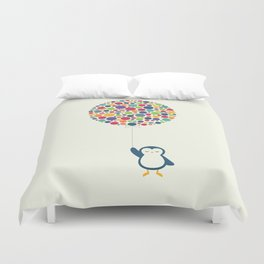 Float In The Air Duvet Cover
