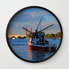 Toledo's Marine One Wall Clock