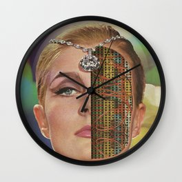 Stepford Priestess Wall Clock