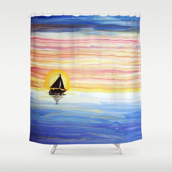 Sailbows Shower Curtain