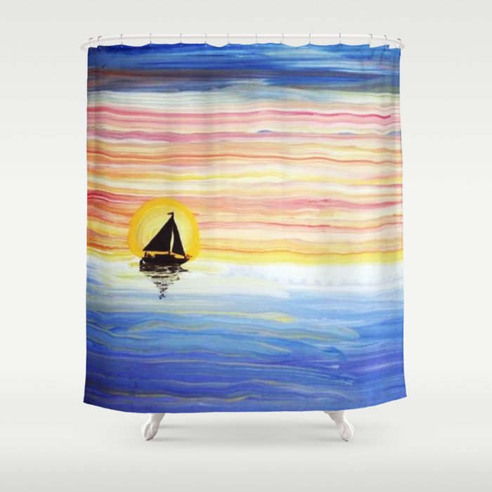 Sailbows Shower Curtain