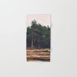 Sad timber industry Hand & Bath Towel