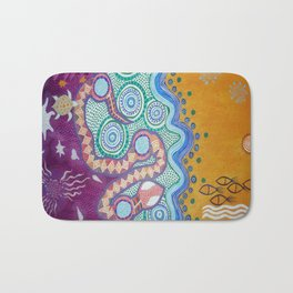 Rainbow Serpent Bath Mat