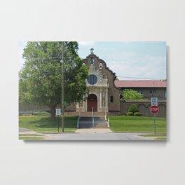 Monastery of the Visitation Metal Print