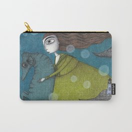 The Sea Voyage Carry-All Pouch