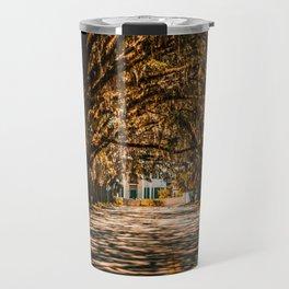 Magnolia Avenue in Fall Travel Mug
