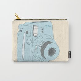 Kawaii Instax Camera Blue Carry-All Pouch