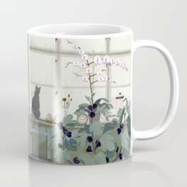 Indoor Garden With Fig Tree Coffee Mug