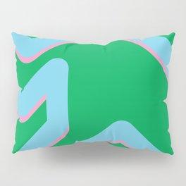 The form Pillow Sham