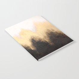 Metallic Abstract Notebook