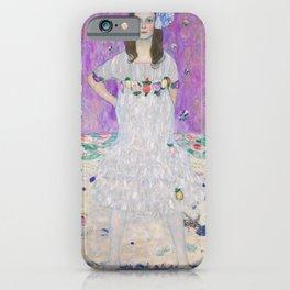 Gustav Klimt Mada Primavesi Art Nouveau Painting iPhone Case