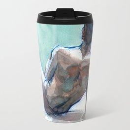 MICHAEL, Semi-Nude Male by Frank-Joseph Travel Mug