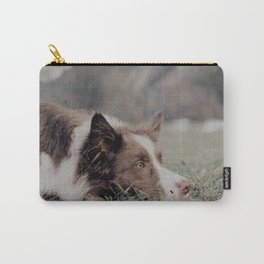 Kiva the dog Carry-All Pouch