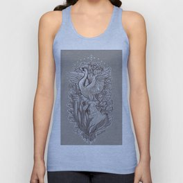 Ascent from the Lotus Forest Unisex Tank Top