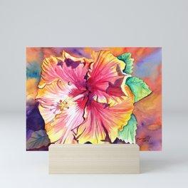 Tropical Hibiscus 13 Mini Art Print