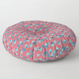 Ice cream 3 Floor Pillow