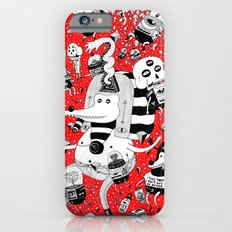 rot zeichentusche  iPhone 6 Slim Case