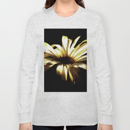 Summer Shadows On Flowers Long Sleeve T-shirt