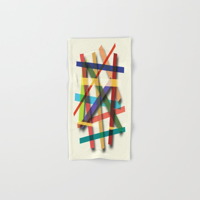Abstract #436 Hand & Bath Towel
