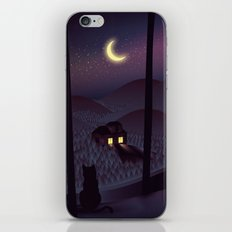 Silent Watcher iPhone & iPod Skin