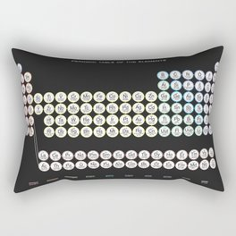 Periodic Table of the Elements Rectangular Pillow