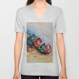 In from the Sea Unisex V-Neck