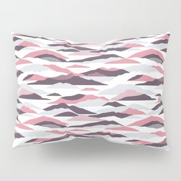Abstract mountains pattern Pillow Sham