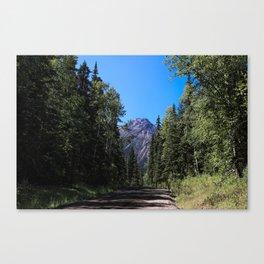 Twin Falls Mountain Canvas Print