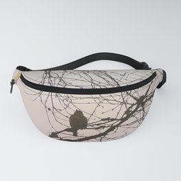 Bird and branches Fanny Pack