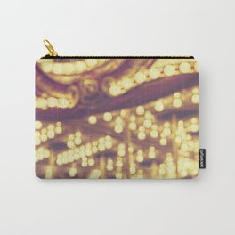 Fuzzy Carousel Carry-All Pouch
