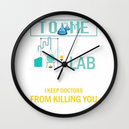 Medical Lab Technician for  Laboratory Technologist  Product Wall Clock