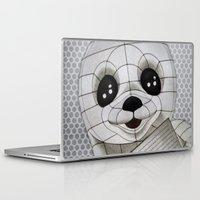 propaganda Laptop & iPad Skins featuring Baby Seal Propaganda by alterEGO