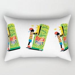 Stack That Cheese Rectangular Pillow