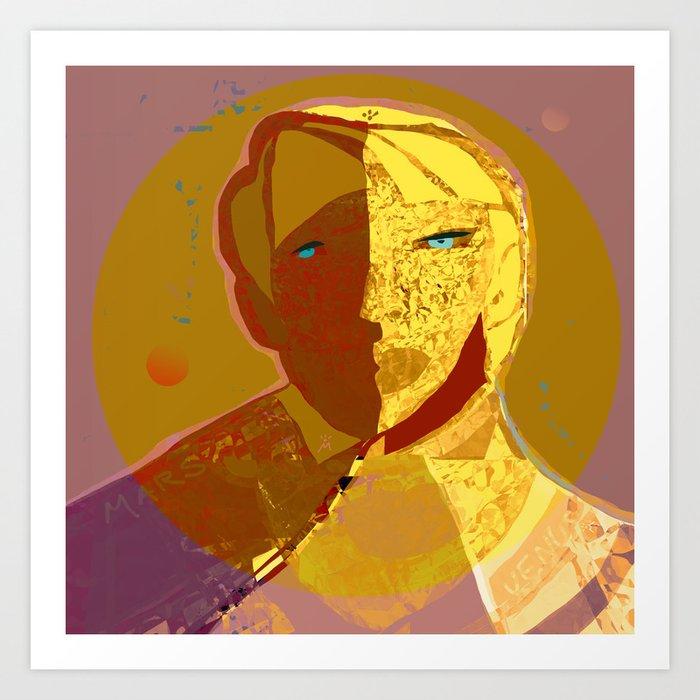 Mars and Venus Art Print