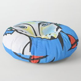 Jared Padalecki - Picasso Cubist Portrait Floor Pillow