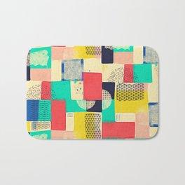 Blocky Pastel Bath Mat