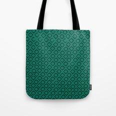 Teal Pattern Tote Bag