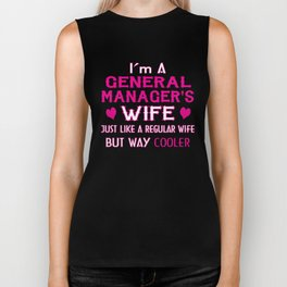 General Manager's Wife Biker Tank