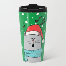 Singing cat Travel Mug