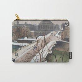 Albert Marquet - Le pont Neuf sous la Neige, Paris Carry-All Pouch