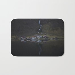 River that vanishes (Fjord) Bath Mat
