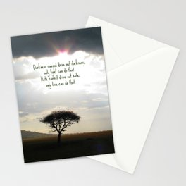 Let the light shine Stationery Cards