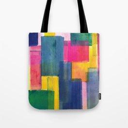 Color Block Series: Rooftops Tote Bag